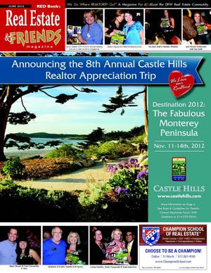 JUNE 2012 Real Estate and Friends Magazine