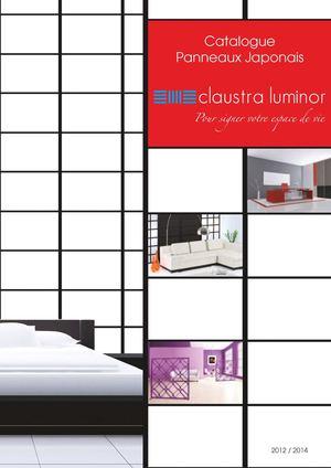Calam o catalogue panneaux japonais 2012 2014 claustra for Claustra interieur japonais