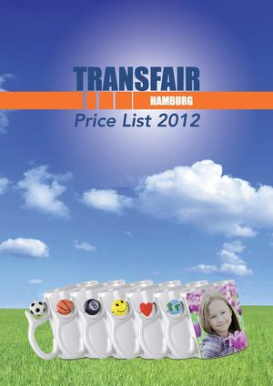Pricelist Transfair 2011/2012