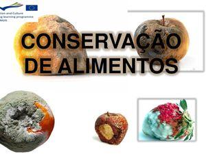Conservação dos alimentos pdf