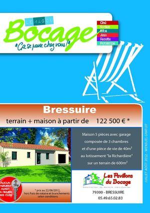 Calam o mag du bocage juillet ao t 2012 - Garage du bocage les herbiers ...