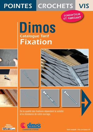 Catalogue Tarif Fixation DIMOS