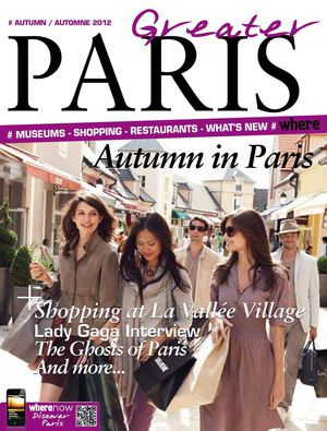 Greater Paris Magazine - Fall / Automne 2012 français anglais