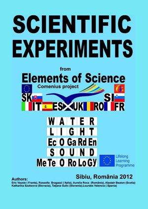 Scientific Experiments, Scientific Experiments from Elements of Science Comenius Project
