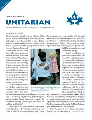 Canadian Unitarian, Summer 2012
