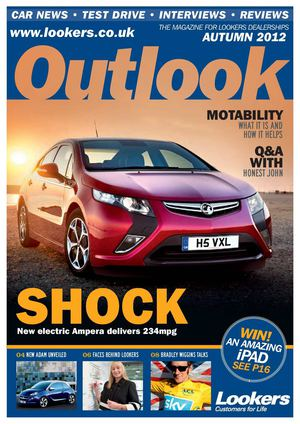Lookers Outlook Autumn 2012 Vauxhall