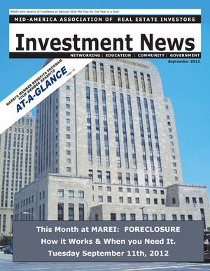 The Investment News:  September 2012