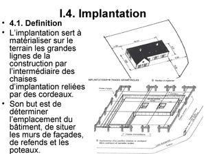 Calam o suite de chapitre 1 implantation for Chaise d implantation