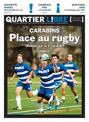 Carabins : Place au rugby
