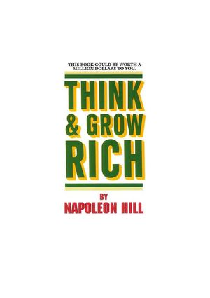 Think and Grow Rich Download ( 258 Pages - Free ) - PDF