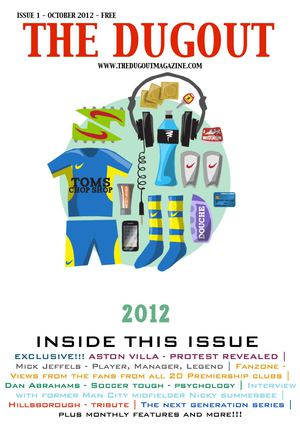 The dugout magazine - issue one - October 2012