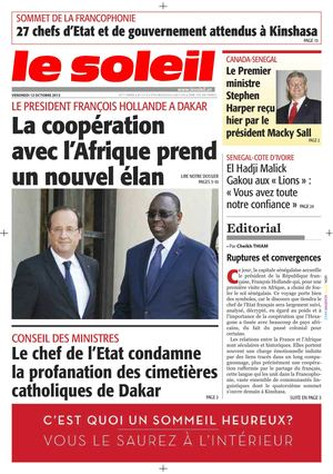 Focus François Hollande au Sénégal