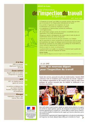 Calam o 1 lettre d information de l inspection du - Inspection du travail bourges ...