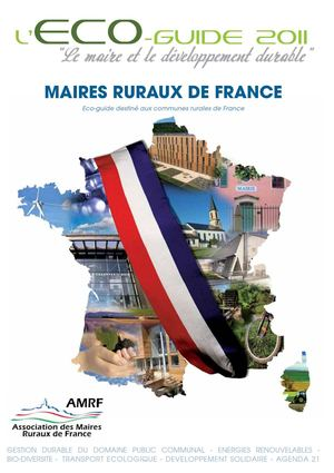 ECO GUIDE MAIRES RURAUX DE FRANCE 2011-2012