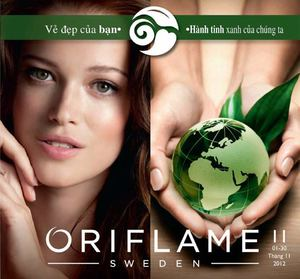 Catalogue My Pham Oriflame 11-2012