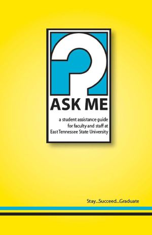 Ask Me Booklet