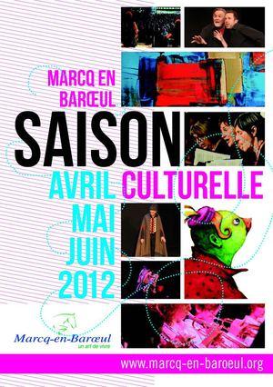Calam o ville de marcq en bar ul plaquette saison - Horaire piscine marcq en baroeul ...