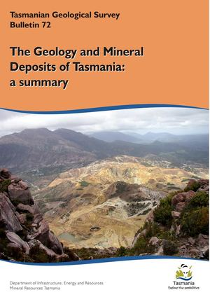 The geology and mineral deposits of Tasmania
