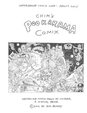 Chim's Pookarama Comix by James Beoddy, 2012