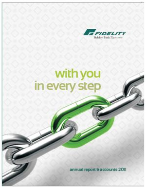 Fidelity Bank Annual Report 2011