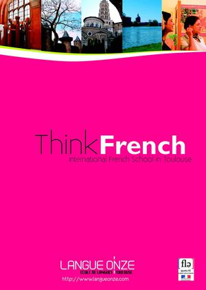 Brochure Langue Onze Toulouse