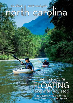 2013 Official North Carolina Travel Guide