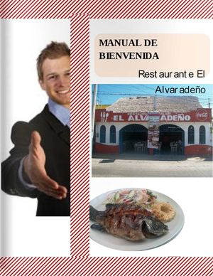 Calam o manual de bienvenida for Manual de funciones de un restaurante pdf