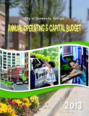 City of Dunwoody, GA FY2013 Annual Operating and Capital Budget