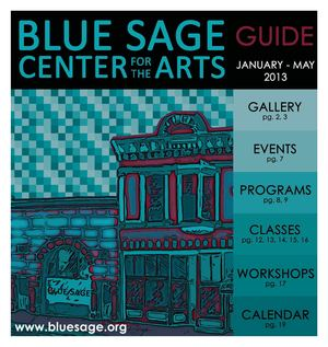 Blue Sage Activities Guide Jan-May 2013