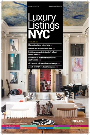 Luxury Listings NYC- JAN/FEB 2013