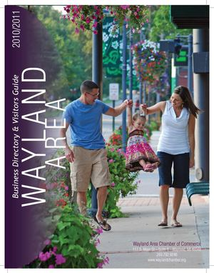 2010/2011 Wayland Area Business Directory & Vistors Guide
