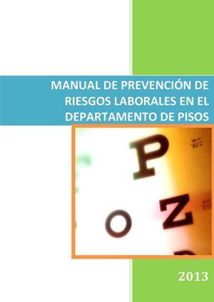 Calam o manual de prevenci n de riesgos laborales en el for Plan de prevencion de riesgos laborales oficina