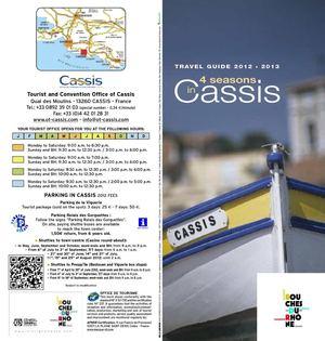 Calam o guide touristique office de tourisme cassis anglais - Office tourisme de cassis ...