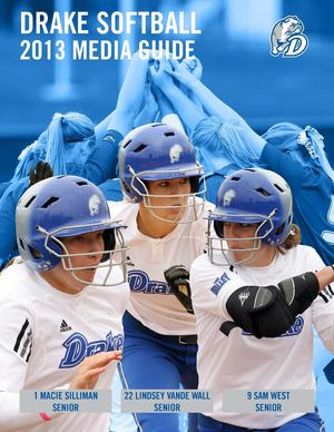 2013 Softball Media Guide