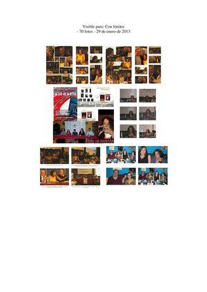 actividades realizadas por la asociación UPA UNIÓN DE PROFESIONALES, ARTISTAS Y OTROS POR LOS NIÑOS DEL MUNDO