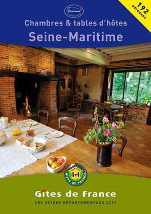 Calam o gites de france seine maritime guide des - Chambre d agriculture de seine maritime ...