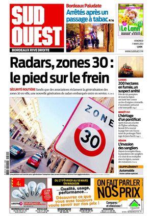Image gallery sud ouest journal - Ouest france le journal gratuit ...