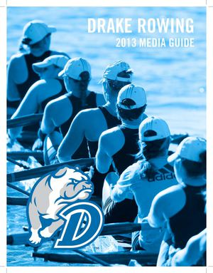 2013 Rowing Media Guide