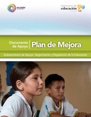 Plan de Mejoras Instructivo del Ministerio
