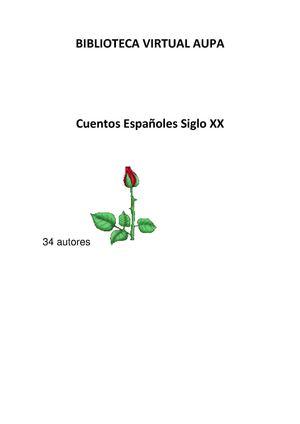 CUENTOS ESPAÑOLES 34 AUTORES