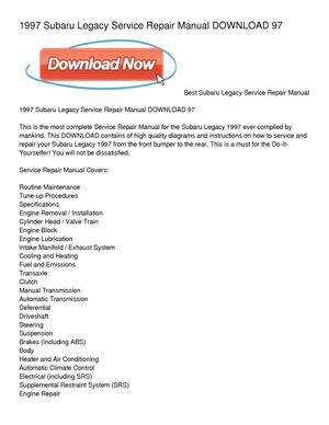 Large on Subaru Legacy Electrical Diagrams