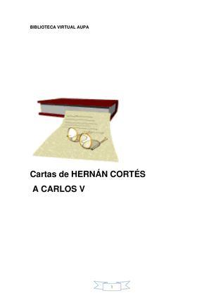 cartas de Hernán Cortés al Rey