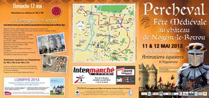 Programme Percheval 2013