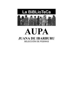 JUANA DE IBARBURU SELECCIÓN POEMAS