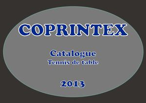 Catalogue Tennis de table 2012