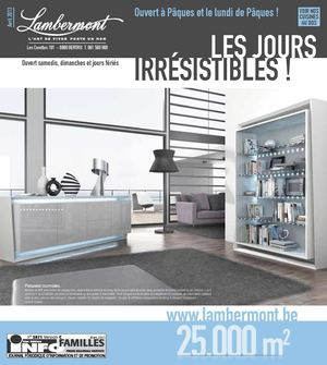 calam o meubles lambermont les jours irresistibles avril 2013. Black Bedroom Furniture Sets. Home Design Ideas