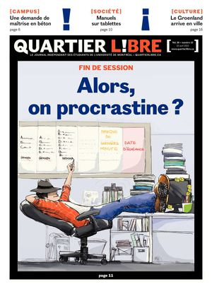 Vol 20 no 15 - Alors, on procrastine ?