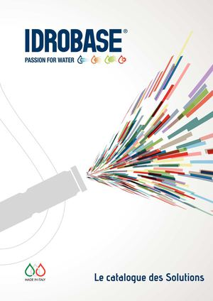 Le catalogue des Solutions - Idrobase Group