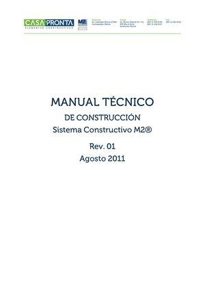 Calam o manual tecnico de construccion sistema - Tecnico en construccion ...