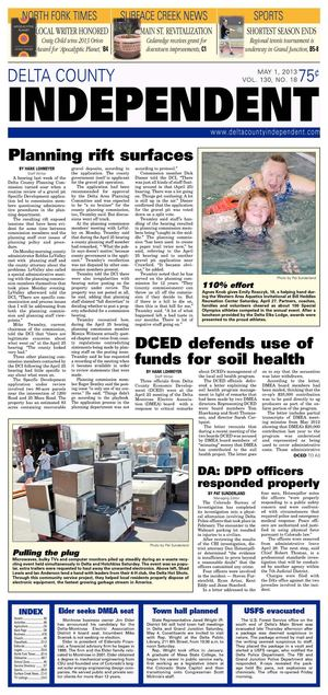 Delta County Independent, May 1, 2013
